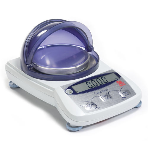 carat scale / with LCD display / stainless steel pan / for jewelery