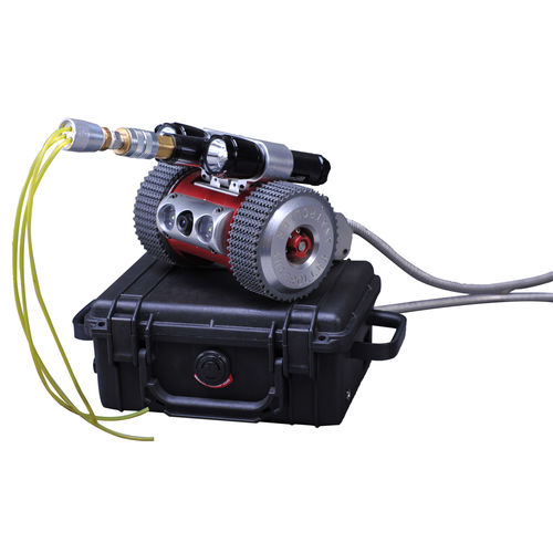 duct and pipe cleaning robot
