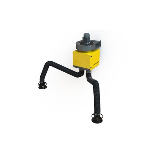 wall-mounted fume extractor / welding / cartridge / dry filter