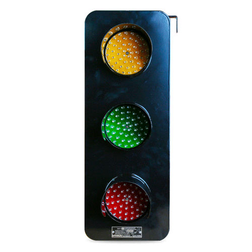 three-color traffic light / steady / LED / 220VAC
