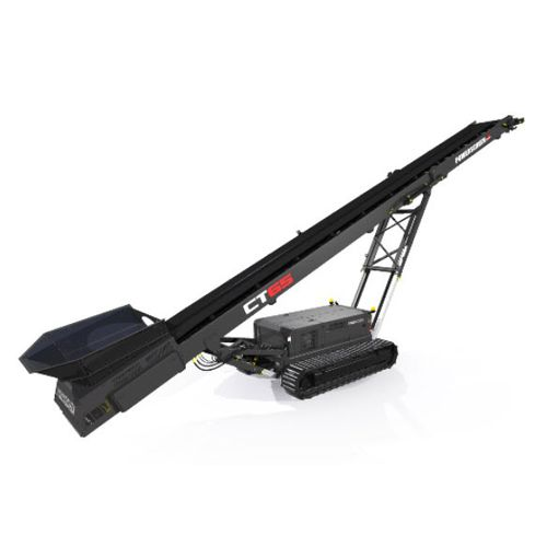 belt conveyor / for the mining industry / construction / for bulk materials