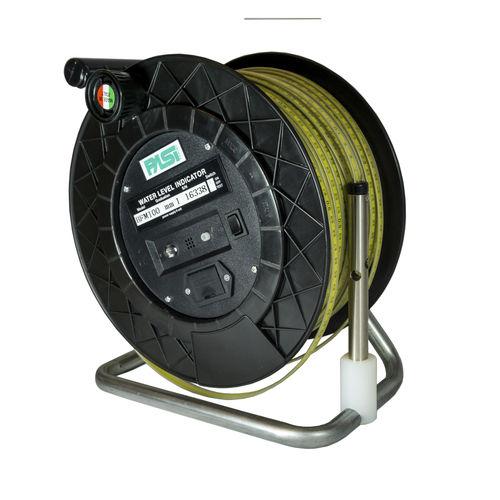 water level indicator / electronic / direct-reading / flat ribbon