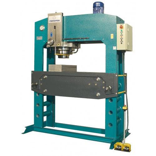hydraulic press / motorized / straightening / vertical