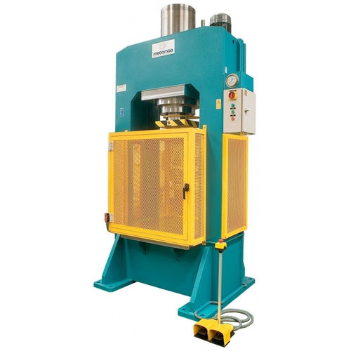 hydraulic press / forming / with heating plates / vertical