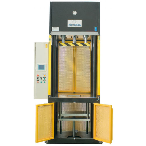 hydraulic press / for molding / custom / 4-column