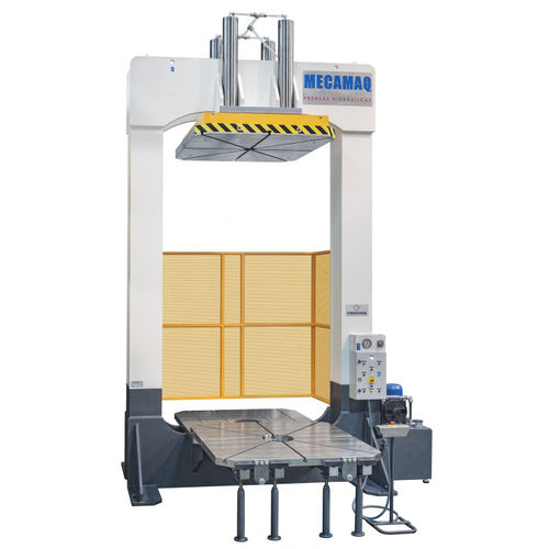 hydraulic press / for molding / double-action