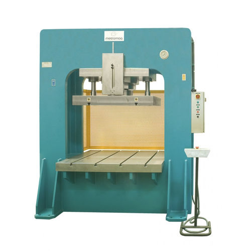 hydraulic press / straightening / double-action / vertical
