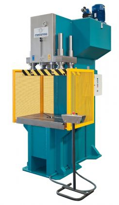 hydraulic press / punching / double-action / custom