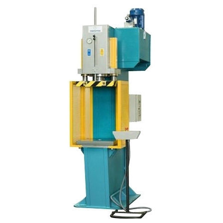 hydraulic press / forming / double-action / C-frame