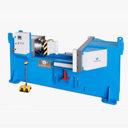 hydraulic press / compression / horizontal