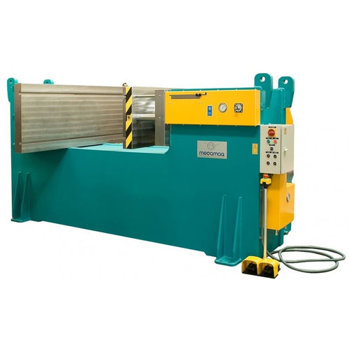 hydraulic press / forming / horizontal / double-action