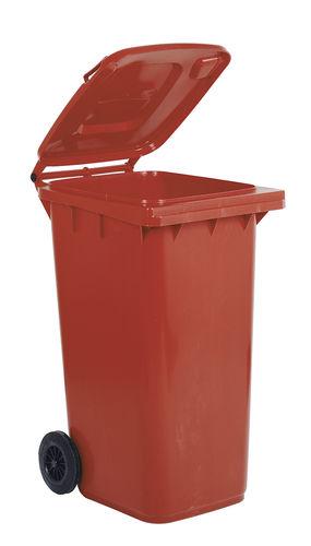 polyethylene waste bin