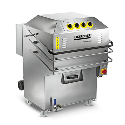 automatic cleaning machine / top-loading / rotary basket