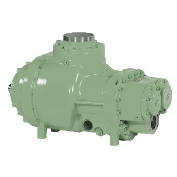 gas compressor / stationary / motorless / low-pressure