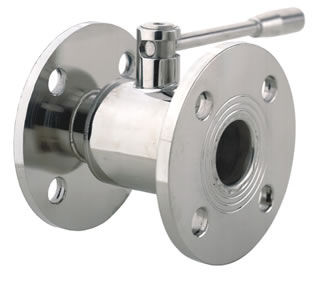 ball valve / manual / for gas / flange