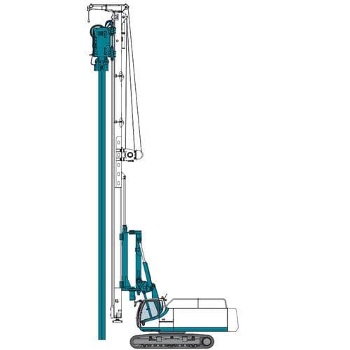 hydraulic vibrator / vertical
