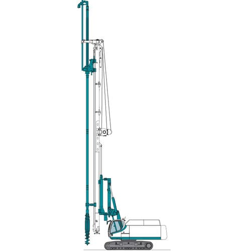 piling and drilling rig