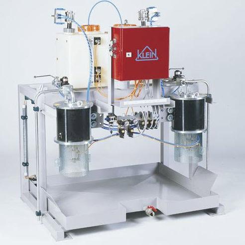 volumetric mixer-dispenser