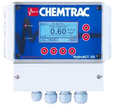 chlorine analyzer / concentration / for integration / temperature control