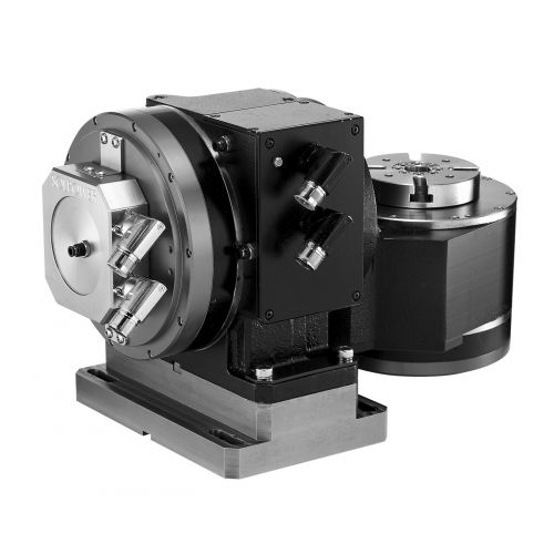 electric rotary table / tilting / for machine tools / for metrology applications