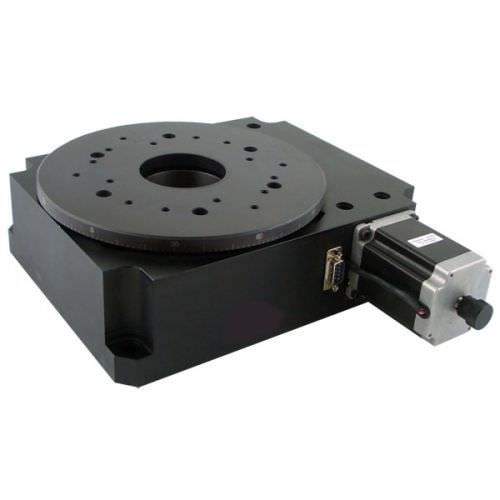 stepper motor-driven rotary indexing table