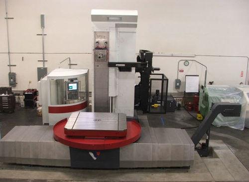 CNC boring mill / horizontal / universal / 5-axis