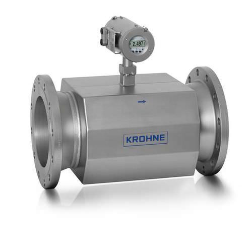 ultrasonic flow meter / for liquids / economical / in-line