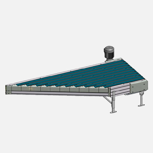 belt conveyor / for boxes / for containers / horizontal