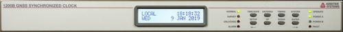 synchronized clock / GPS / LCD / PTP