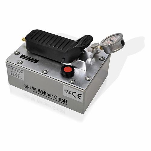 hydraulic piston pump / air-operated