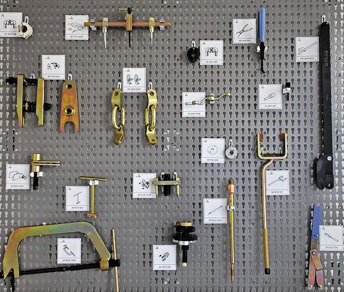 tool holder panel
