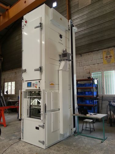 heating oven / truck-in / paternoster / electric