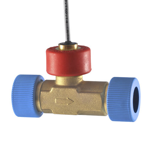 turbine flow sensor / for liquids / in-line