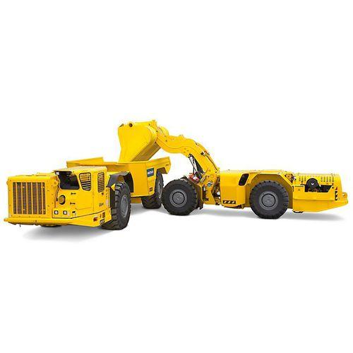 articulated dump truck / diesel / for underground mining