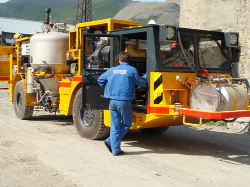 diesel vehicle / multi-function / underground