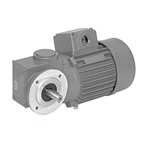 DC gear-motor / three-phase / worm / right angle