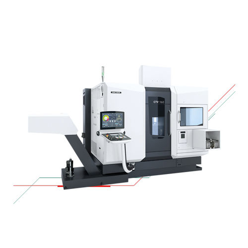 CNC turning center / vertical / 3-axis / compact