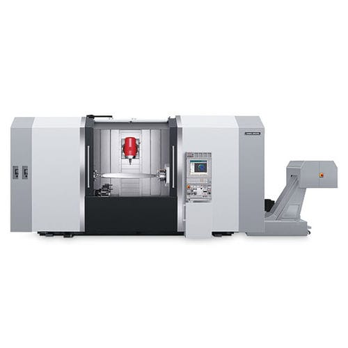 CNC milling-turning center / horizontal / multi-axis / high-precision