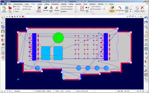 programming software / CAD/CAM / optimization / nesting
