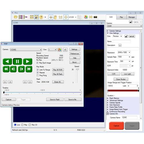image analysis software / control / parameterization / converter