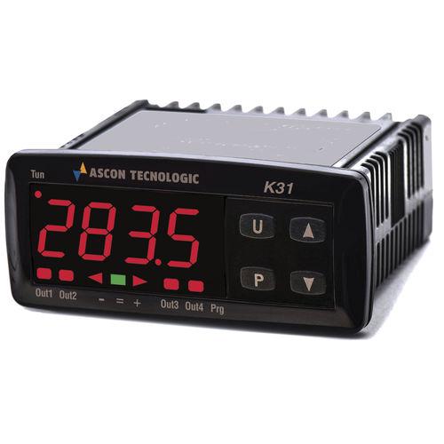 digital temperature regulator / double LED display / PID / programmable