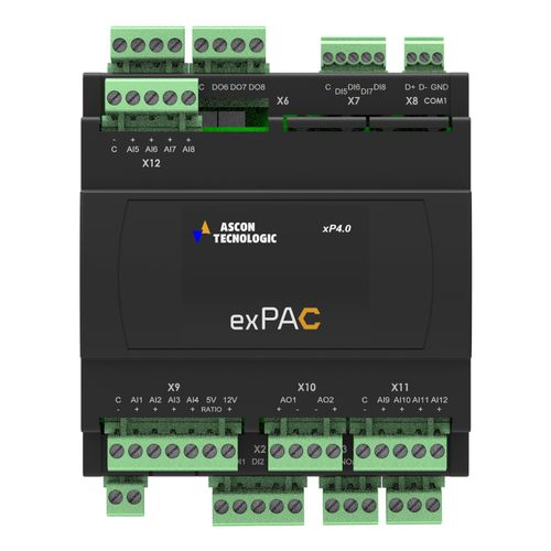 DIN rail programmable automation controller / for controllers