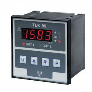 digital temperature controller / with LED display / PID / panel-mount