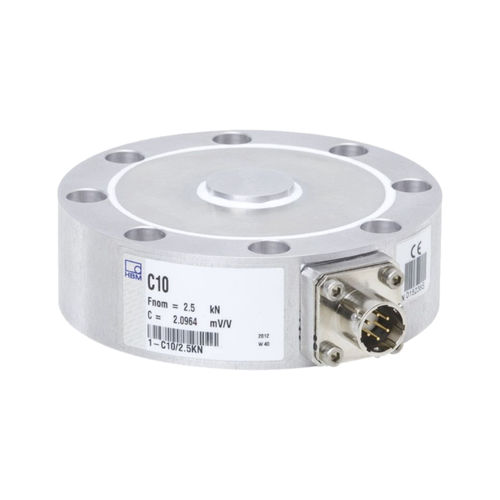 compression load cell / planar beam / flexible / stainless steel