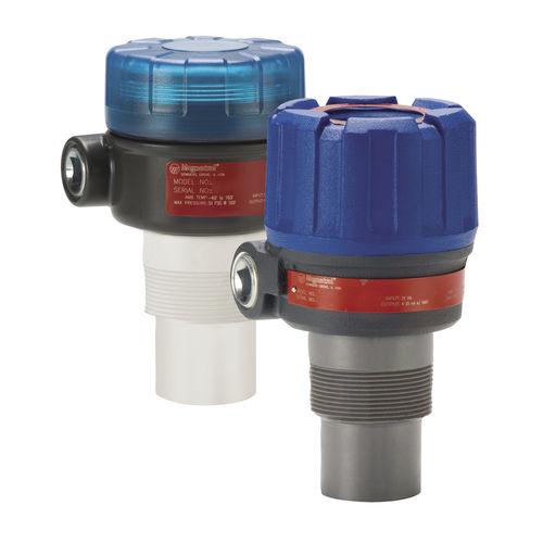 ultrasonic level sensor / for liquids / loop-powered / for storage tanks