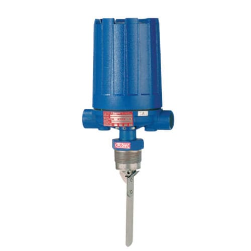 paddle flow switch / for liquids / for gas / stainless steel