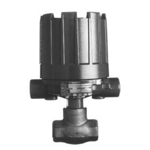 piston flow switch / for liquids / in-line / horizontal