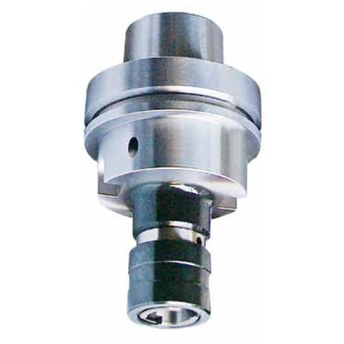 HSK tool holder / taper shank / tapping / for metalworking