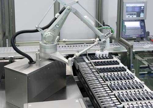 articulated robot / 6-axis / packaging / pick-and-place