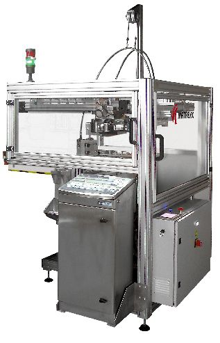 inkjet marking machine / benchtop / with touch screen / for paper